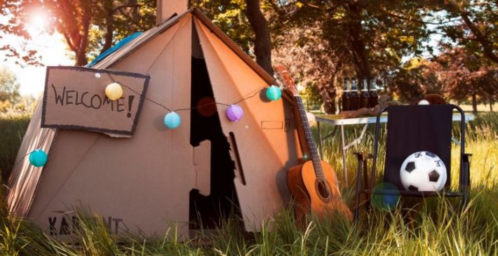 Rent an ecological tent by Kartent